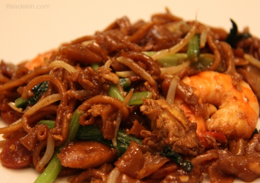 Home-cooked Char Kway Teow
